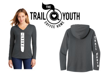 Trail Youth I am Free Long Sleeve Hoodie