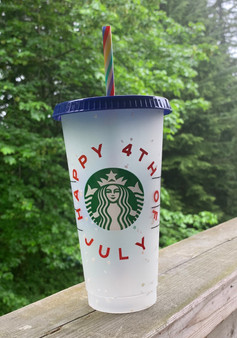 Starbucks 4th of July cup