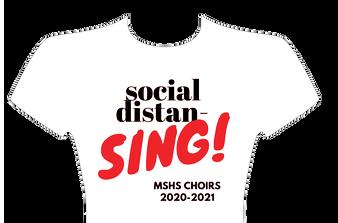 Social Distan-Sing Shirt