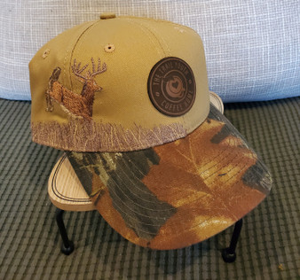 Embroidered Camouflage Cap with Trail Youth Patch