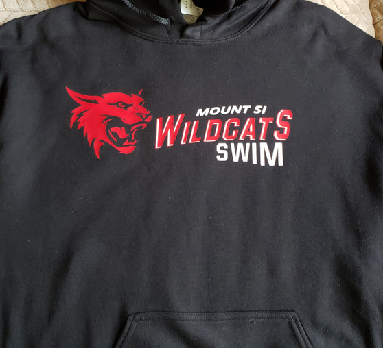 Gilden Mount Si High School Swim Hoodie Adult