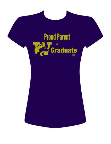 Proud Parent of UW Graduate
