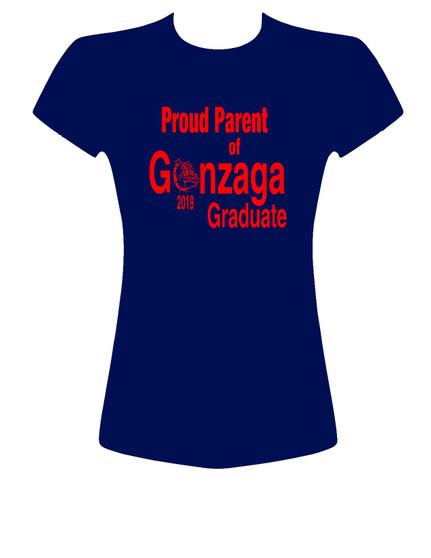 Proud Parent of Gonzaga Graduate