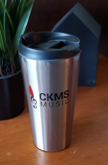 Stainless Steel Travel Tumbler CKMS with logo