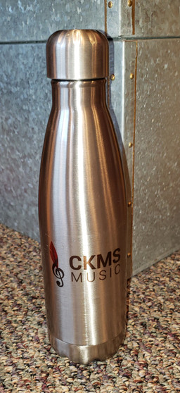 Stainless Steel Coke Shaped Water Bottle CKMS with logo