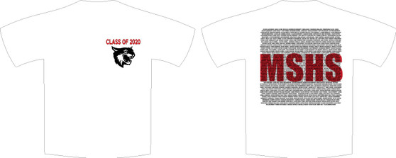 Mount Si Senior Name Shirt.