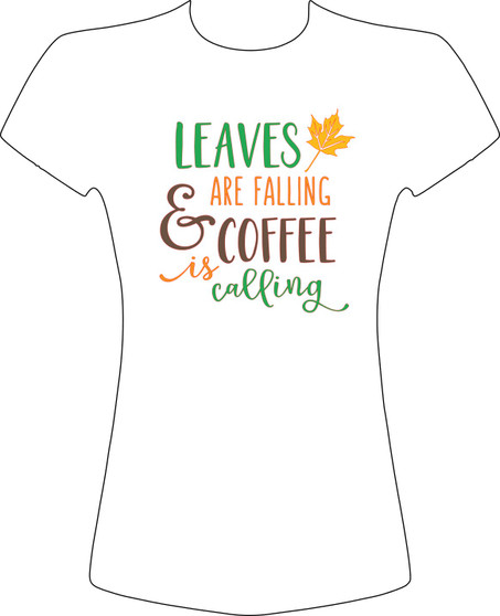 Leaves are Falling and Coffee is Calling