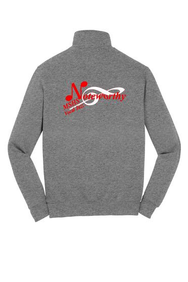 Noteworthy 1/4 Zip Sweatshirt