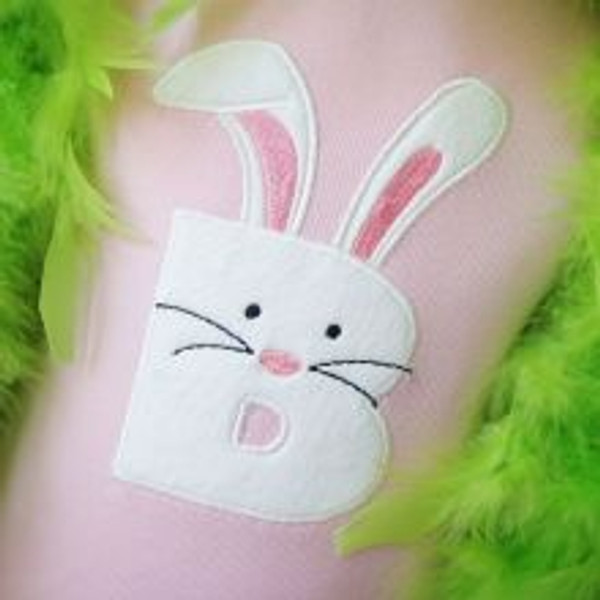 Easter Bunny Shirt with Alpha or Bunny In Basket