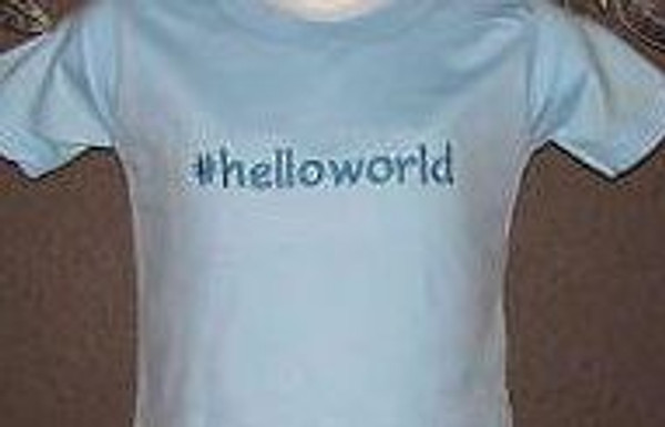 Hashtag Shirt CHOOSE YOUR WORDS