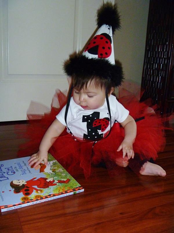 Ladybug hat   birthday number