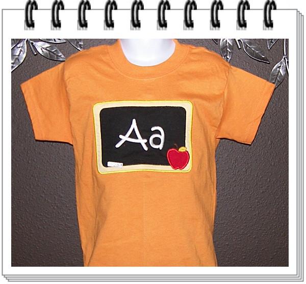 Blackboard shirt choose your Alpha