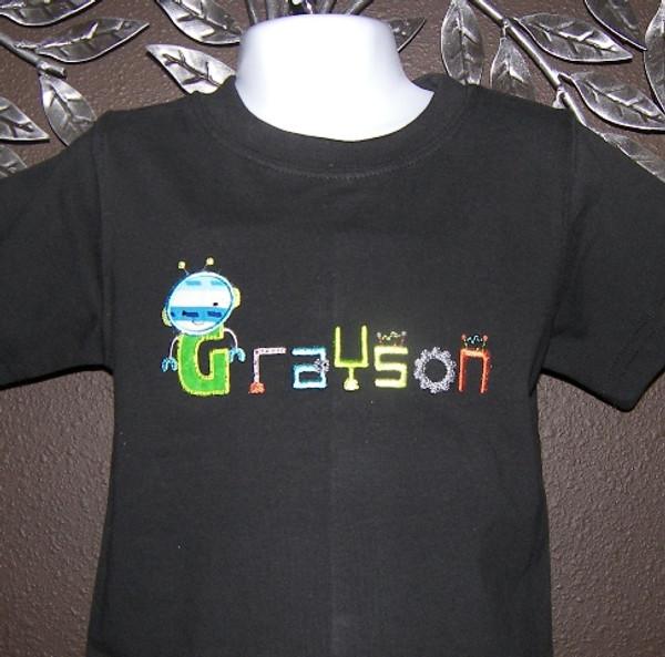 Robot Name shirt