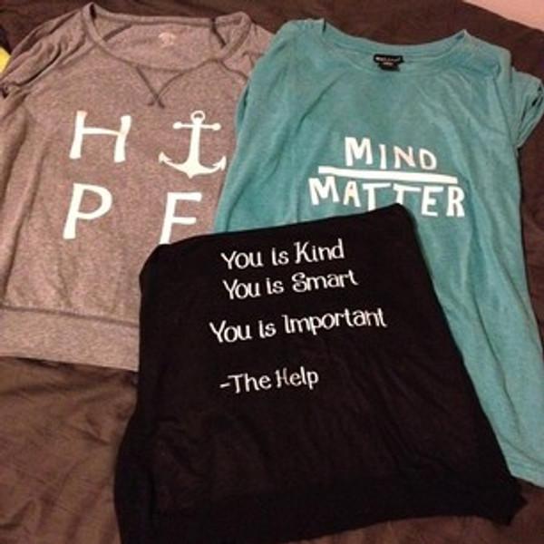 Mind over Matter shirt