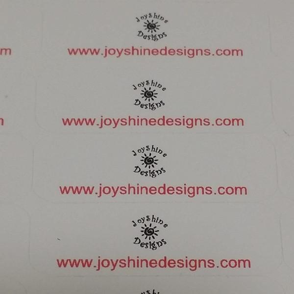 Custom Iron on labels