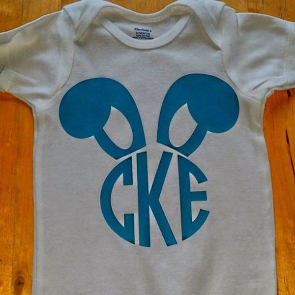 Bunny Monogram Shirt