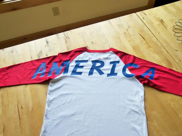 America sports shirt