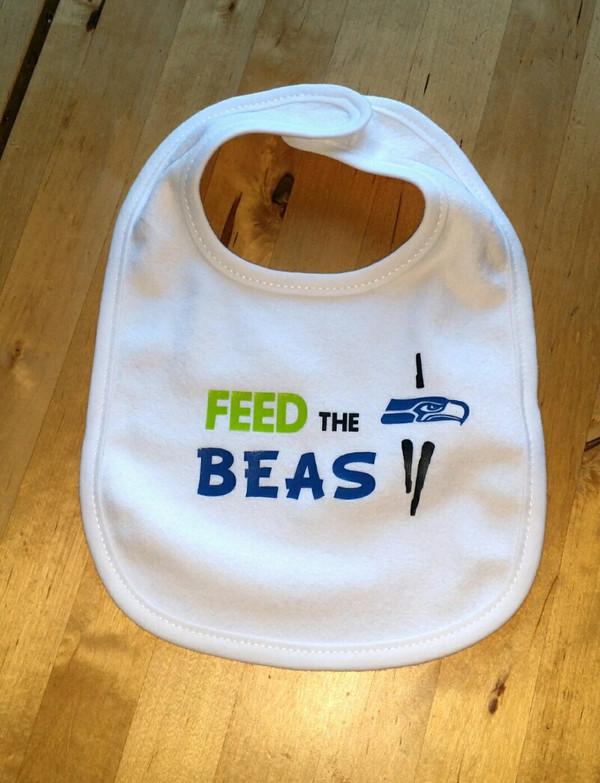 Feed the Beast Bib Seahawks