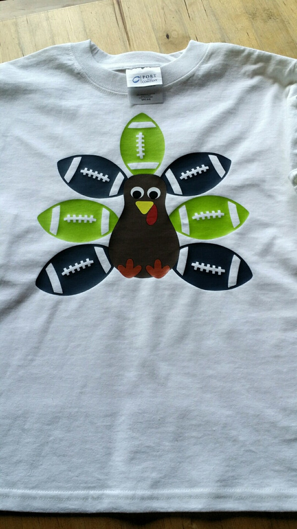Football Turkey- Customize for your favorite Team