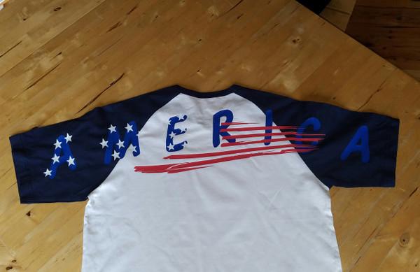 AMERICA on a Jersey