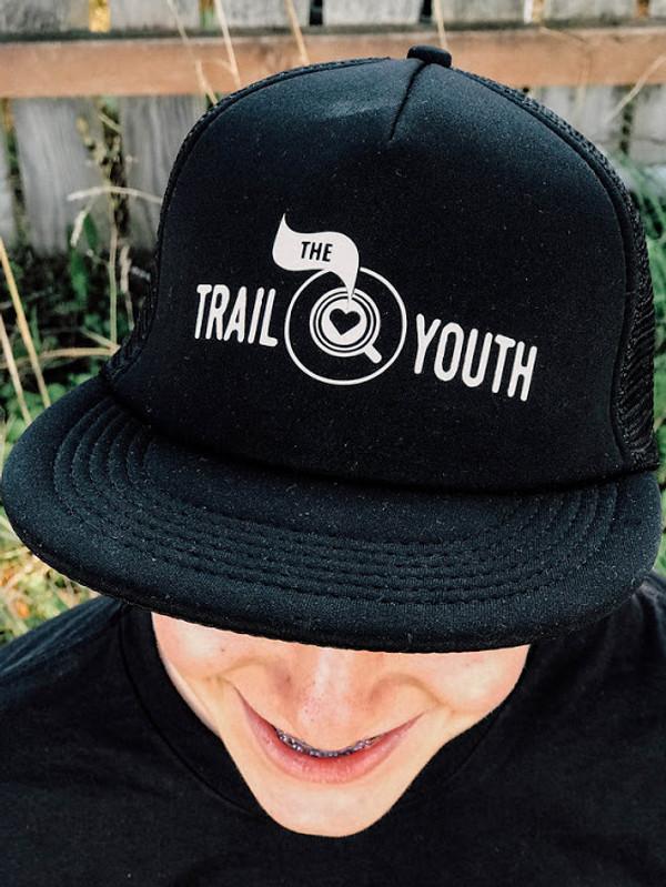 Trail Youth Snapback Trucker Hat