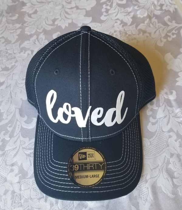 LOVED - New Era Stretched Mesh Contrast Stitch Cap