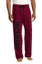 Band / Orchestra Plaid Flannel Bottoms
