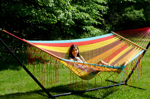 Breezy Point™ American Style Mayan Mexican Hammock