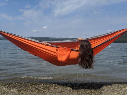 Hunter Orange Camping Hammock