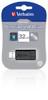 Verbatim Store n Go Pinstripe USB Flash Drive 32GB Black Product Image 2