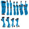 Image for Corsair Premium Individually Sleeved PSU Cables Pro Kit - Blue AusPCMarket