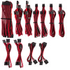 Image for Corsair Premium Individually Sleeved PSU Cables Pro Kit - Red/Black AusPCMarket