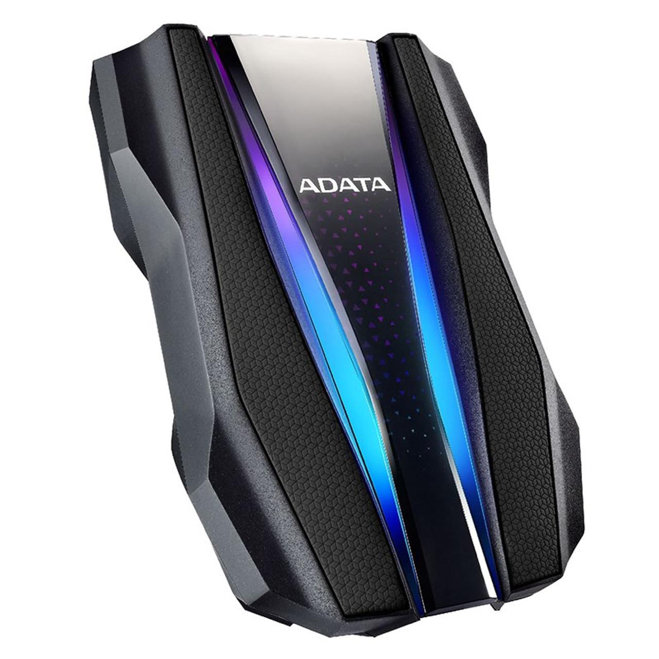 Blue//Black 2TB AData HD720 Waterproof Shockproof USB3.0 Portable 2.5-inch HDD