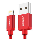 Product image for 1M UGreen Lightning Cable Red 40479 | AusPCMarket Australia