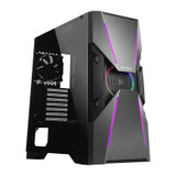 Product image for Antec DA601 Tempered Glass ARGB Mid-Tower E-ATX Case | AusPCMarket Australia