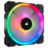 Product image for Corsair LL140 RGB 140mm Independent RGB PWM Fan   AusPCMarket Australia