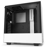 Product image for NZXT H510 Mid TowerCase Matte White/Black | AusPCMarket Australia