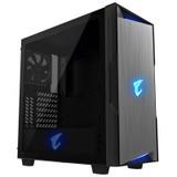 Product image for Gigabyte AORUS C300G RGB Tempered Glass Mid-Tower ATX Case | AusPCMarket Australia