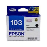 Image for Epson 103 H/Y Black Ink Cart 995 pages Black AusPCMarket