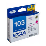 Image for Epson 103 High Yield Magenta Ink Cartridge AusPCMarket
