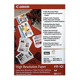 Image for Canon HR 101N A4 High Resolution Paper 50 Sheets AusPCMarket