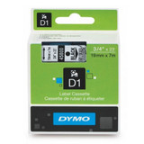 Image for Dymo Blk on Clr 19mmx7m Tape 19mm x 7m AusPCMarket