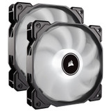 Image for Corsair Air Series AF140 LED (2018) Low Noise 140mm Fan - White -  2 Pack AusPCMarket