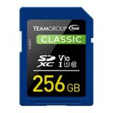 Image for Team Classic 256GB SDXC U1 V10 Class 10 Memory Card AusPCMarket