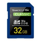 Image for Team Classic 32GB SDHC U1 V10 Class 10 Memory Card AusPCMarket