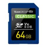 Image for Team Classic 64GB SDXC U1 V10 Class 10 Memory Card AusPCMarket