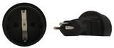 Product image for Schuko to Swiss 3 Pin Plug Adapter | AusPCMarket Australia