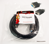 Product image for 10m HD15 15Pin Male VGA To HD15 15Pin Female VGA Video Cable | AusPCMarket.com.au