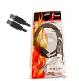 Product image for 1m Type A To Type A USB 2.0 Data Cable M/M | AusPCMarket Australia