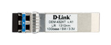 Product image for D-Link DEM-432XT 10GBASE-LR SFP+ Transceiver - Single Mode 10km | AusPCMarket Australia